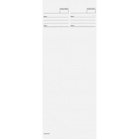 100 Standblätter für Thermo-Drucker (40 Schuss)