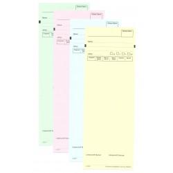 Standblatt-Garnituren mit Normvordruck