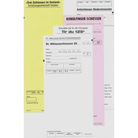 1000 Standblatt-Garnituren (Sonderdruck)